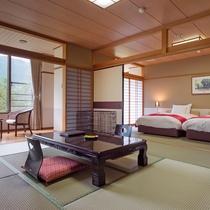 1室限定の三世代やグループに最適なゆったり特別和洋室【84㎡】