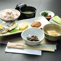 【料理 朝食】種子島の幸を使った朝食は栄養満点です!!