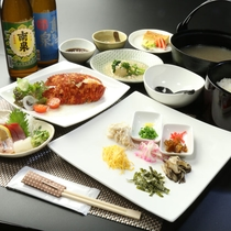【料理 夕食】種子島の幸を生かした料理でおもてなしいたします☆彡料理の目玉はインギー地鶏の鶏飯で