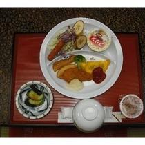 子育て支援プランの朝食例