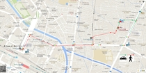 縁~えにし~富山駅からの案内図