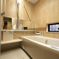 1階 バスルーム 近代最新バスルームです 使い勝手重視です。