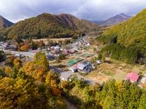 ドローン空撮@男鹿の湯ふるさと体験村上空①