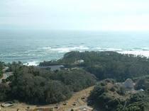マリンタワー展望台からの景色