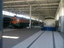 京都鉄道博物館展示車両