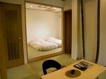 半露天風呂付き客室【離れ客室】ウッドデッキ付き和室「さるすべり」