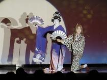 毎月大衆演劇を開催!!宿泊のお客様は無料でご覧いただけます。