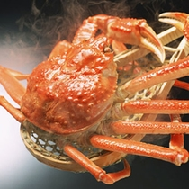アツアツゆで蟹