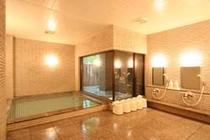 白馬の地下水を使用した大浴場
