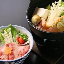 ☆料理_夕食_単品_海鮮鍋+牛