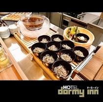 ◆朝食 ご当地メニュー 信州そば