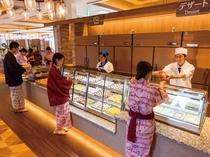 バイキングレストラン「さくら」デザートコーナー