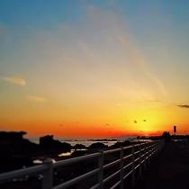 房総の夕陽