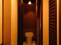 バスルーム一体型トイレ