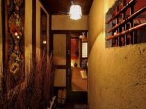 京町家のオリジナル玄関装飾