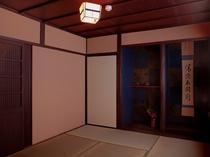 床の間付き寝室