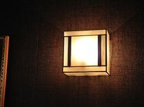 ステンドグラスブラケットランプ