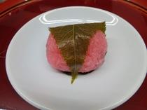 4月の和菓子「桜餅」