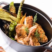 レストラン「アルペジオ」ディナー 一例