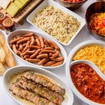 レストラン「アルペジオ」朝食 一例