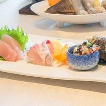 *【お料理】夕食:海ひかりのお刺身★