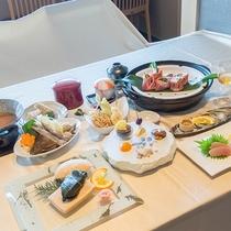 *【お料理】夕食:海ひかりプラン一例♪