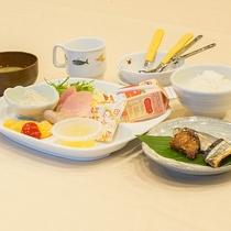 *【お料理】朝食:お子様プレート☆