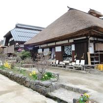 *大内宿/会津観光の人気スポット。当館より車で約15分。