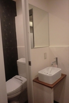 2階共用部トイレ・洗面台