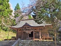 【稲田神社】ヤマタノオロチ神話を巡る名所として多くの人が訪れる場所です。