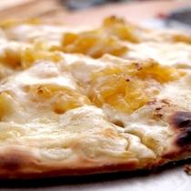 【ピザ焼き体験】デザートピザもひそかにできます♪