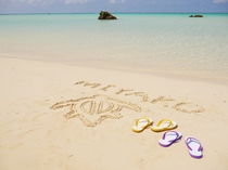 下地島砂浜