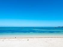 【佐和田の浜】すばらしい景色が広がります