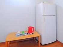 【洋室ツイン・キッチン】冷蔵庫もたっぷり使えます