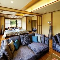 ■多々楽スイート-TATARA suite-■半露天風呂付(60㎡)