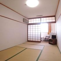【和室8畳一例】畳のお部屋でごゆっくり♪
