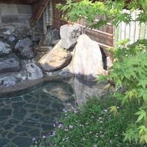 【露天風呂】開放的な気分で天然温泉を満喫