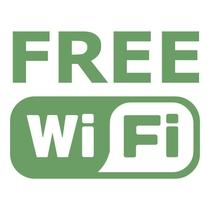 客室内は無料のブロードバンドWi-Fiをご利用いただけます(各部屋ごとにパスワード設定)