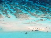 【百合ヶ浜ビーチ】空から見たビーチ