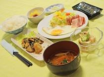 【朝食の一例】バランスの良い朝食をとって一日を楽しみましょう!