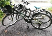 自転車(貸出無料)