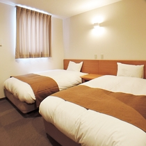 *【部屋】清潔感のある、ツインルーム(ユニットバス付)