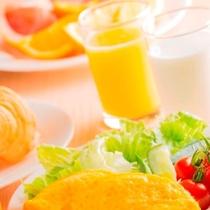 内容充実の無料朝食