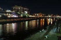 【鴨川】夜