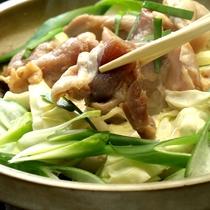 【夕食一例】伊勢海老と宮崎鶏のプラン
