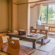 *【部屋/和室一例】どこか懐かしさを感じるような和室です。ゆったりとお寛ぎいただくことができます。