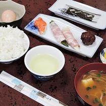 *【朝食一例】翌朝は和定食をご用意いたします。