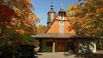 軽井沢聖パウロカトリック教会 いこい山荘より自転車で約25分