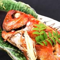 *(別注)季節限定・金目鯛の煮付け ちょっぴり贅沢に海の幸の王様鯛料理をどうぞ!+2,500円~