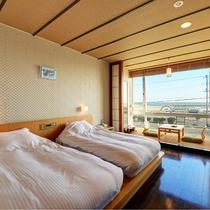 *和洋室一例/2015年リニューアル☆全室12畳以上の広さ&オーシャンビューでリゾート気分♪